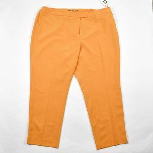 Anne Klein Plus Size Straight-Leg Pants Cezanne